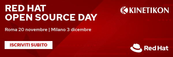 Red Hat Open Source Day 2019 - Roma e Milano
